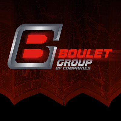 Custom Logo Design for Boulet Group Trucking