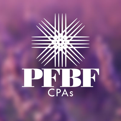 Custom Logo Design for PFBF CPAs in Oakland Maine