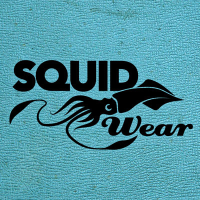 Custom Logo Design for Squid Wear, Innovative Scuba Concepts