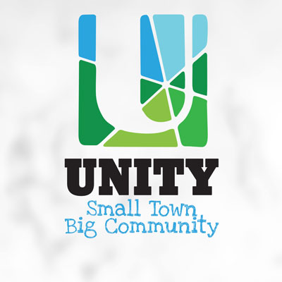 Custom Logo Design for the Town of Unity